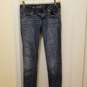 Blue washed jeans american eagle